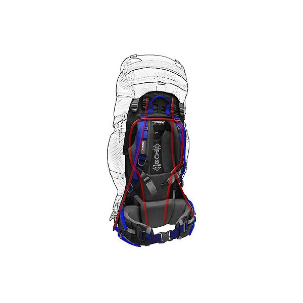 Подвесная система TCS TORSO в рюкзаке Vertex